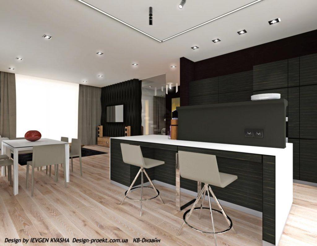 Будівництво будинків з дизайнерськими проектами від КВ-Дизайн та авторським інтер'єром з супроводом.