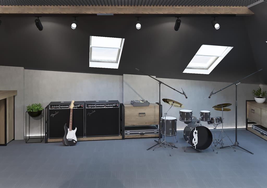 """Два в одному :) офіс для ТМ""""Квітка"""" та рок гурту Мisstresband"""