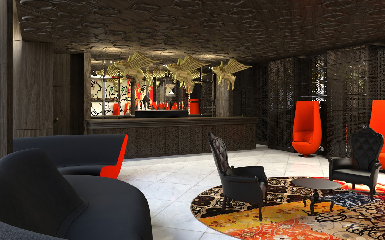 Дизайн готелю