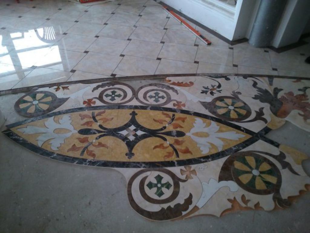Дизайн підлоги з плитки