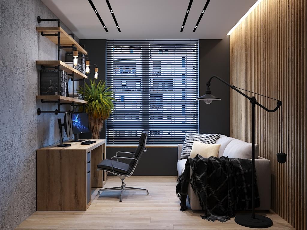 Квартира Лофт 110 м кв